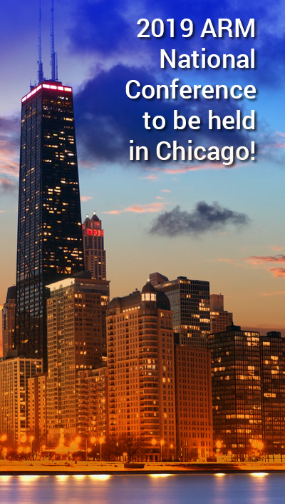 2019 ARM National Conference to be held in Chicago!