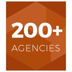200+ Agencies